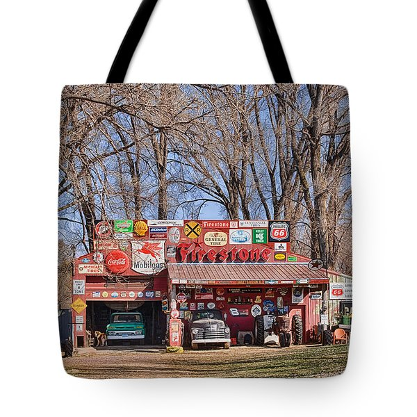 Filling Station Wannabe Tote Bag