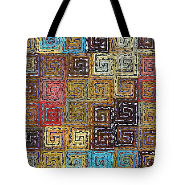 Filling The Space Tote Bag by Kim Redd
