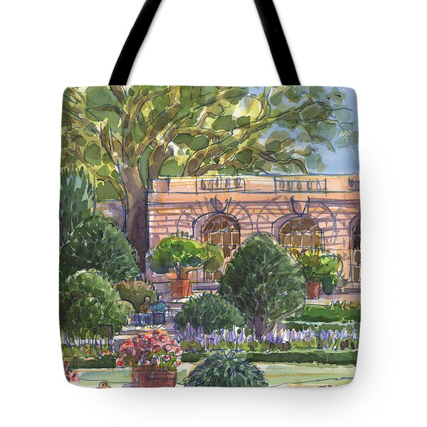 Filoli Garden House Tote Bag