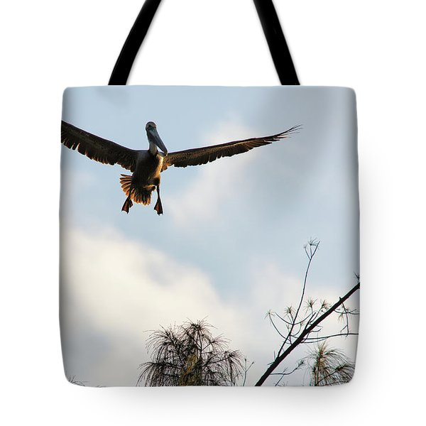 Tote Bag featuring the photograph Final Approach by David Buhler