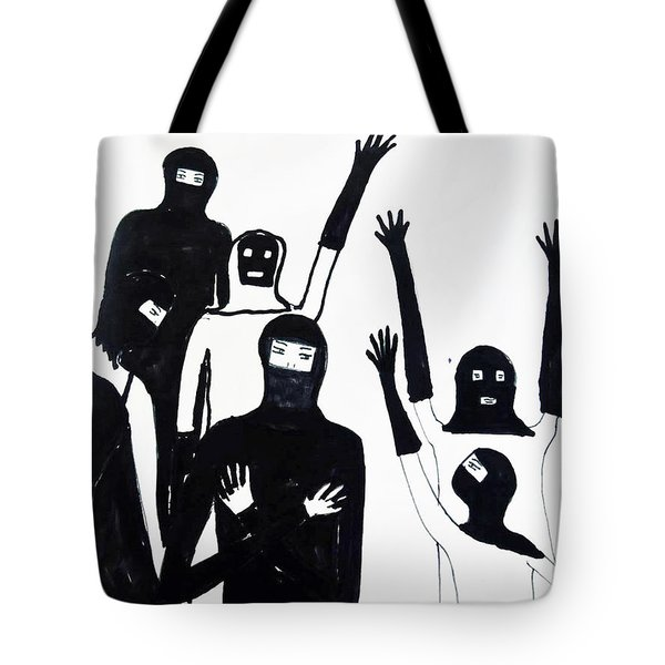 Tote Bag featuring the drawing Final Call by Lyric Lucas
