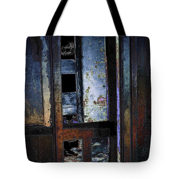 Tote Bag featuring the digital art Final Days - Past Meets Present by Stuart Turnbull