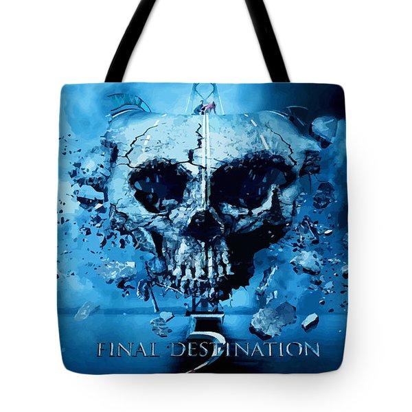 Final Destination-an American Horror Franchise  Tote Bag