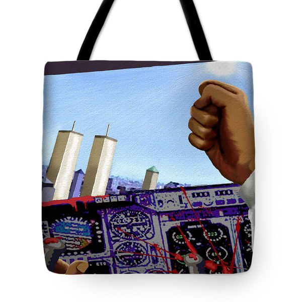 Final Destination Tote Bag by Jann Paxton