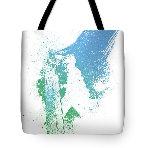 Final Fantasy 7 Tote Bag