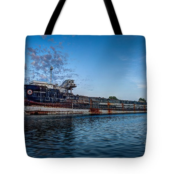 Final Mooring For The Algoma Transfer Tote Bag