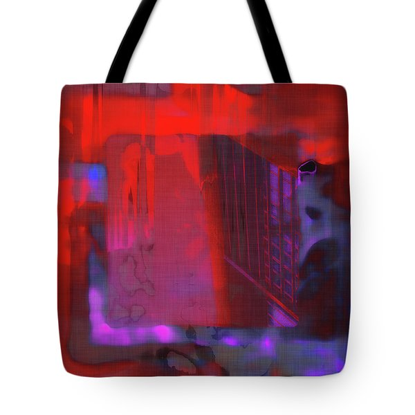 Tote Bag featuring the digital art Final Scene - Before The Bell by Wendy J St Christopher