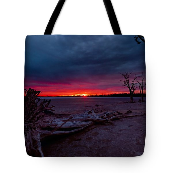 Final Sunset Tote Bag