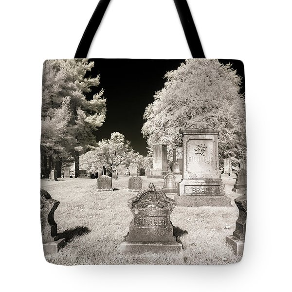 Tote Bag featuring the photograph Final Three by Brian Hale