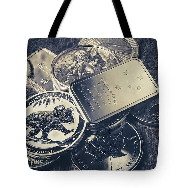 Finance And Commodities Tote Bag