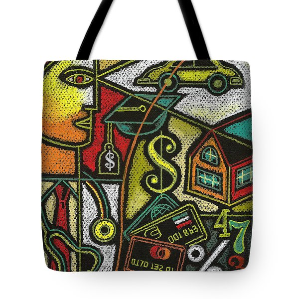 Finance And Medical Career Tote Bag