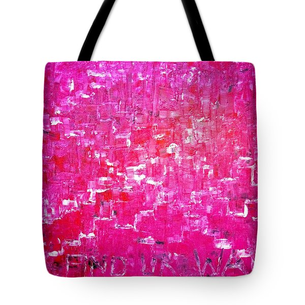 Tote Bag featuring the painting Find Ur Way by Piety Dsilva