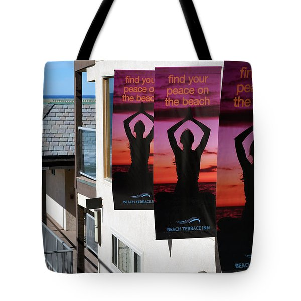 Find Your Peace Tote Bag by Bill Dutting