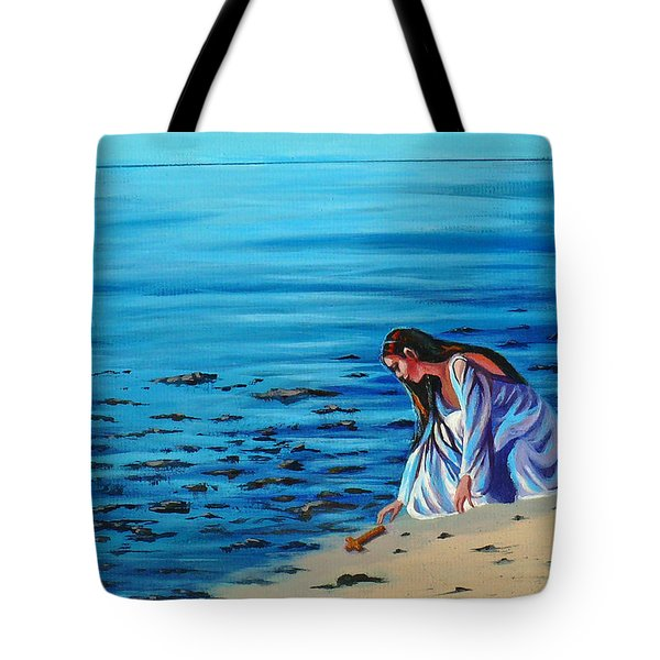 Finding Faith Tote Bag