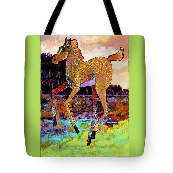 Finding His Legs Tote Bag