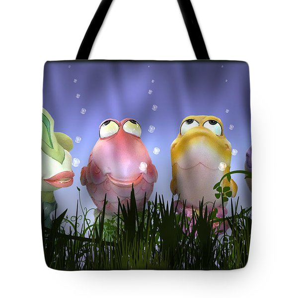 Finding Nemo Figurine Characters Tote Bag