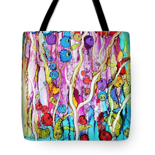 Finding Nemo Tote Bag by Suzanne Canner