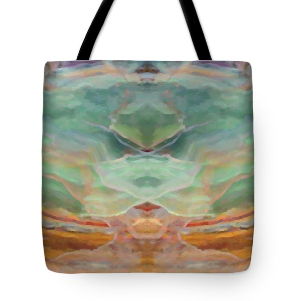 Finding Peace Tote Bag by Ann Tracy