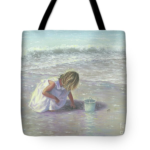 Finding Sea Glass Tote Bag