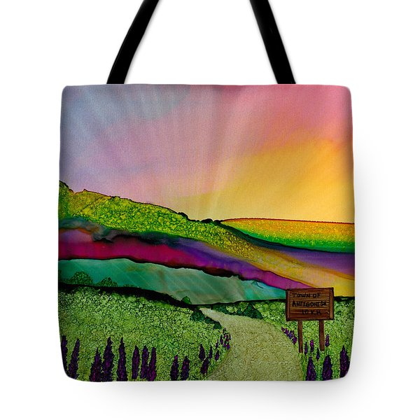 Find The Way Antigonish Ns Tote Bag