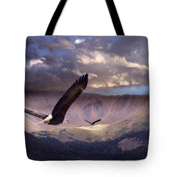 Finding Tranquility Tote Bag