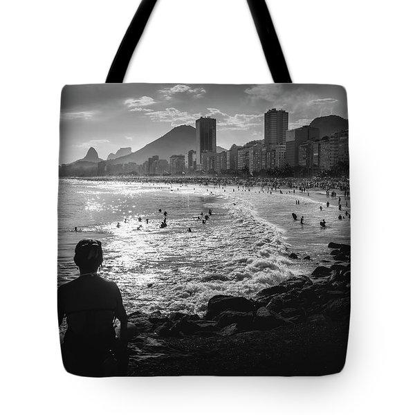 Fine Art Copacabana Rio De Janeiro, Brazil Tote Bag
