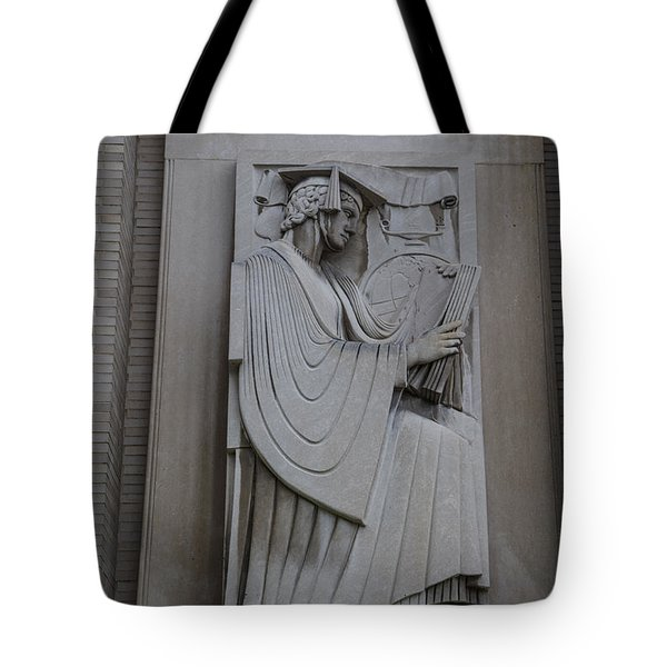 Fine Art Library Penn State  Tote Bag