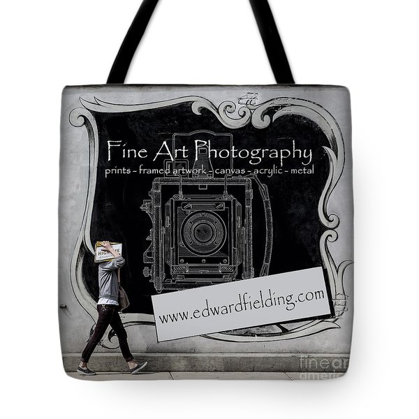 Fine Art Photography Tote Bag by Edward Fielding