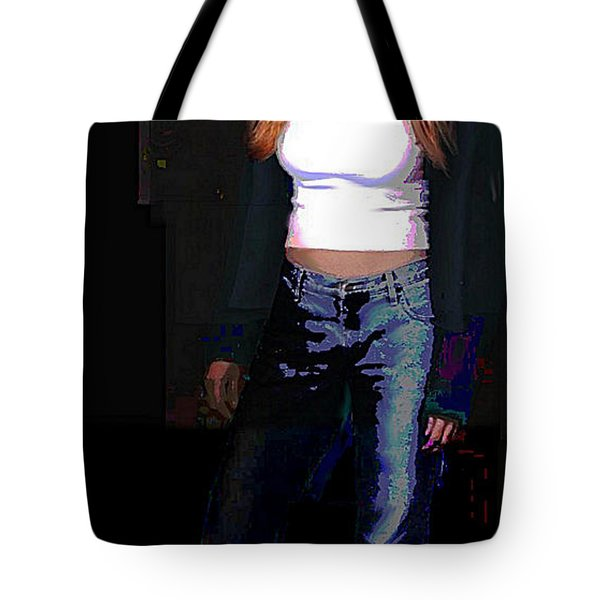 Fine Art Traditional Modern Original Digital Art Work Eva Tote Bag
