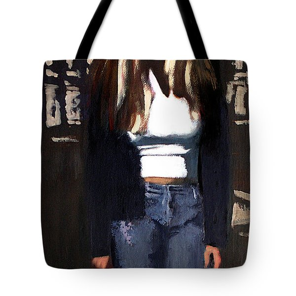 Fine Art Traditional Modern Original Oil Psinting Eva Tote Bag
