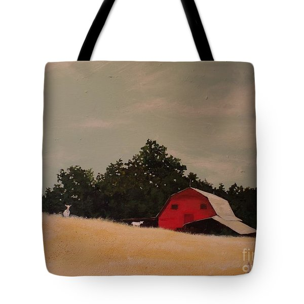 Fine August Day Tote Bag by Carla Dabney