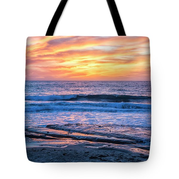 Fine End To The Day Tote Bag