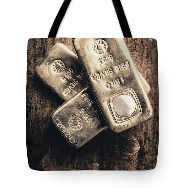 Fine Silver 999 Tote Bag