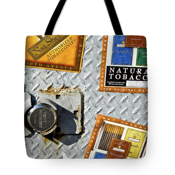 Fine Smokes Tote Bag by Rennie RenWah
