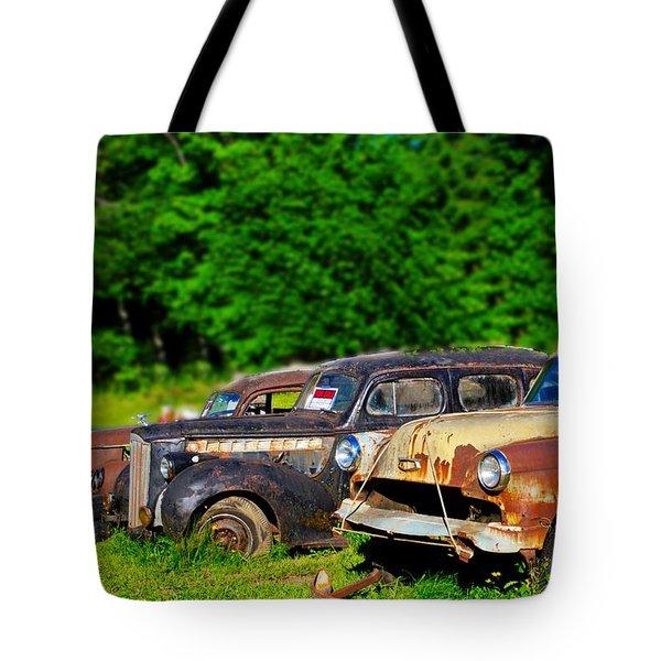Fine Used Cars Tote Bag