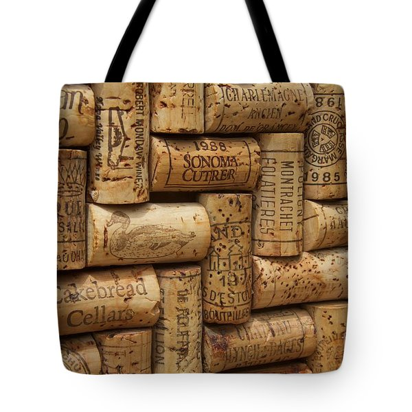 Fine Wine Tote Bag by Anthony Jones