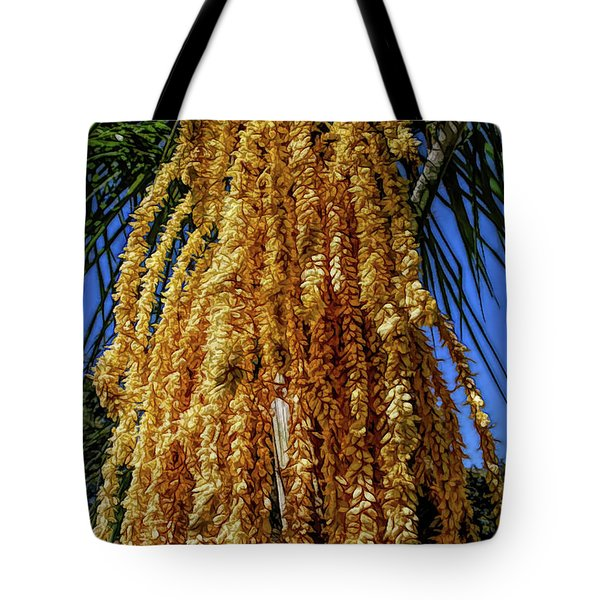 Tote Bag featuring the photograph Fine Wine Cafe Cascading Seed Pod by Aimee L Maher Photography and Art Visit ALMGallerydotcom