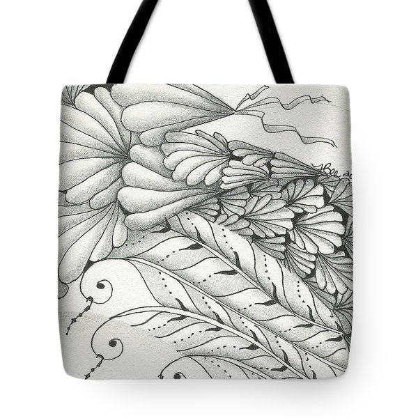 Finery Tote Bag by Jan Steinle