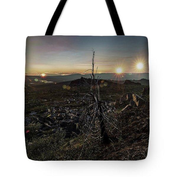 Finger Mountain Solstice Tote Bag