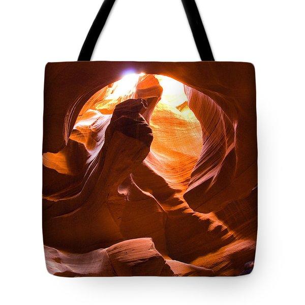 Finger Of Light Tote Bag