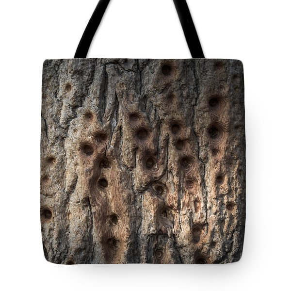 Finger Punch Tote Bag by Matt Malloy