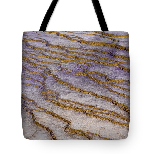 Fingerprint Of The Earth Tote Bag