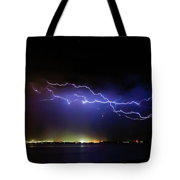 Fingers Across The Lake Tote Bag