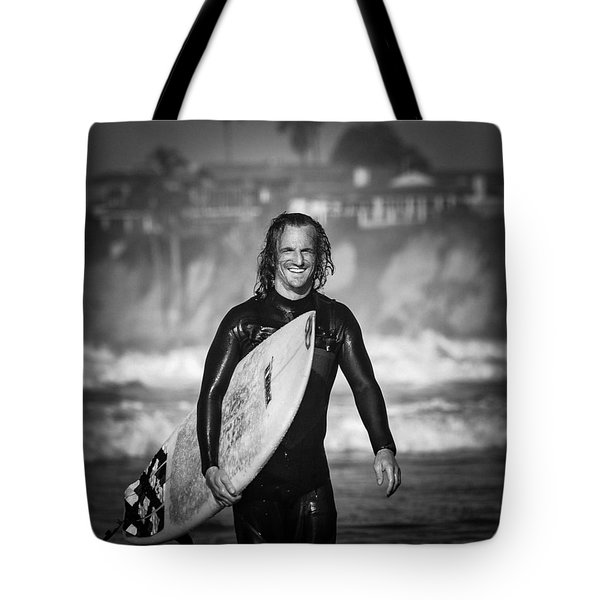 Finished Surfing Tote Bag