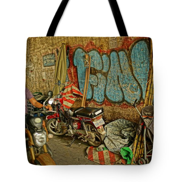 Fink Color Graffiti Tote Bag