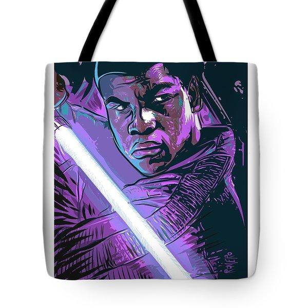 Tote Bag featuring the digital art Finn by Antonio Romero