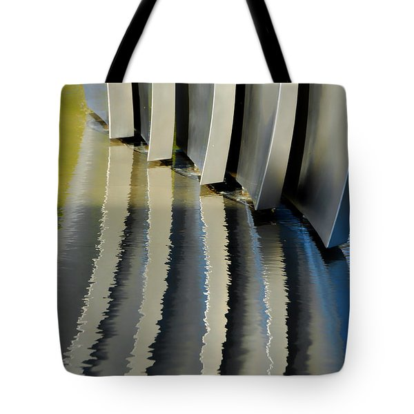 Fins Tote Bag by Donna Blackhall