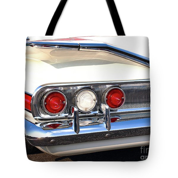 Fins Were In - 1960 Chevrolet Tote Bag