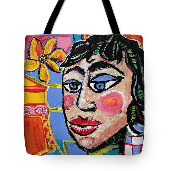 Fiona - Vivid Vixen 6 Tote Bag