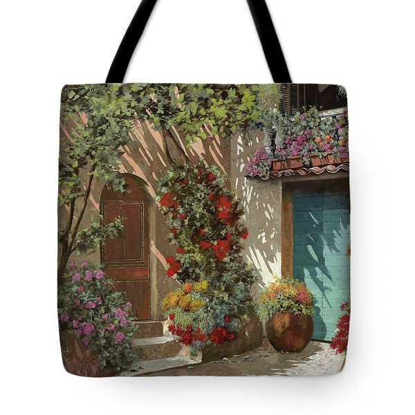 Fiori In Cortile Tote Bag